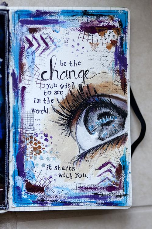 Creative Art Book Covers Ideas : Art journaling arches printmaking set « karenika